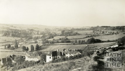 View of Bathford near Pleasant Place and Prospect Place 1938