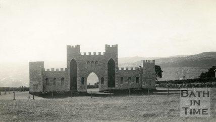 Sham Castle, Bath 1933