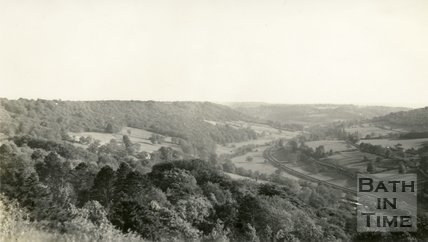 View of the Limpley Stoke Valley 1938