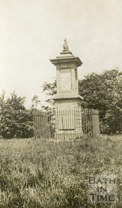 The Lansdown Monument, Lansdown, Bath 1932