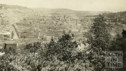 View of Bath from Beechen Cliff 1932