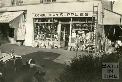Combe Down Supplies store, Combe Down c.1930