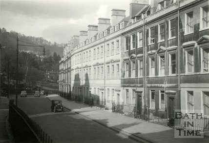 The Paragon, Bath c.1950