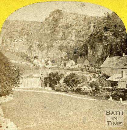 Cheddar Gorge and Cliffs c.1873
