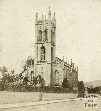 St. Saviour's Church, Larkhall, Bath c.1863