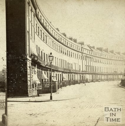Norfolk Crescent, Bath c.1870
