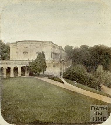 Church of St Paul, Prior Park, Bath, c.1870