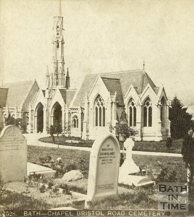 St. James's Cemetery, Bath c.1870