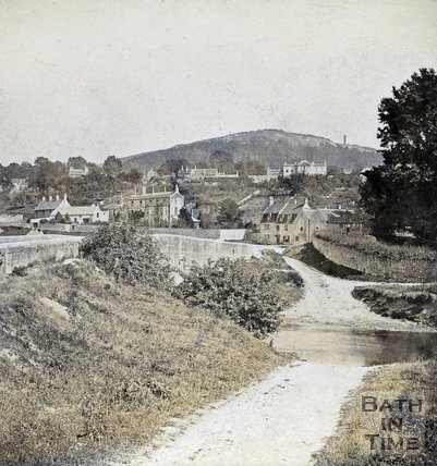 The ford at Bathford c.1870