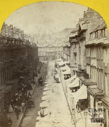 Milsom Street, Bath c.1863