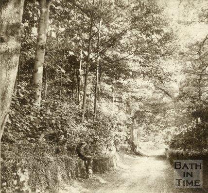 A peaceful scene in Conkwell Lane c.1880