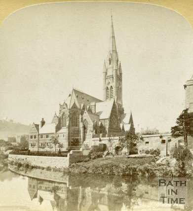 St. John's Roman Catholic Church, Bath c.1890
