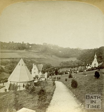 Abbey Cemetery, Bathwick, Bath c.1890