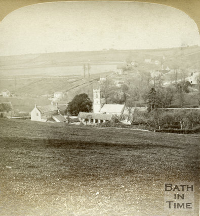 View of Dunkerton c.1890