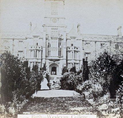 The Wesleyan College, now Kingswood School, Lansdown, Bath c.1880