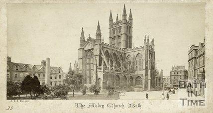 Bath Abbey from Orange Grove, Bath c.1865