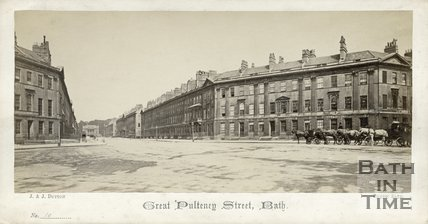 Great Pulteney Street, Bath c.1865