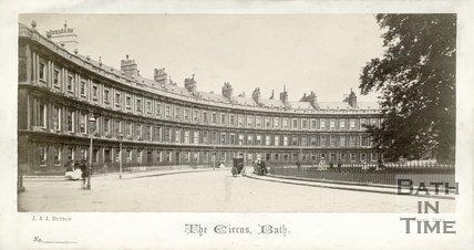 The Circus, Bath c.1865