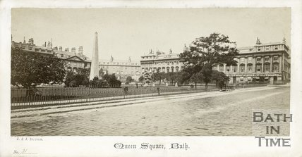 Queen Square, Bath c.1865