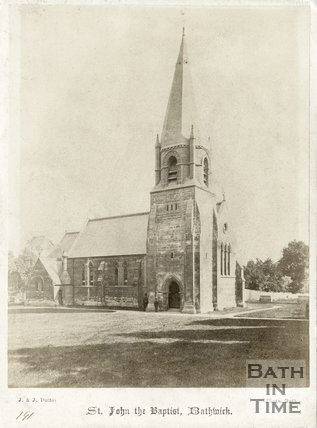 St. John the Baptist Church, Bathwick, Bath c.1870