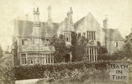 Monkton Farleigh Rectory c.1900