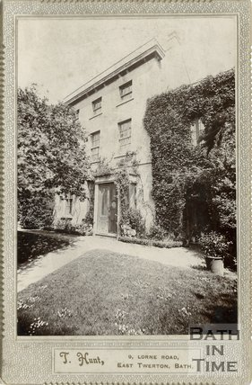 Clyde House, Twerton, Bath c.1910