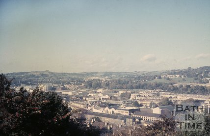 View of Bath from Beechen Cliff, c.1968