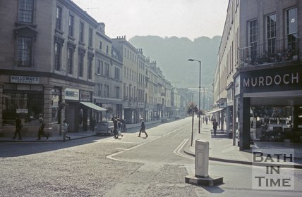 Southgate Street, viewed from Lower Borough Walls, c.1968