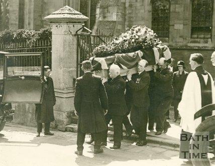 Alderman Major General Bradshaw's Funeral in Bath, 1st June 1929