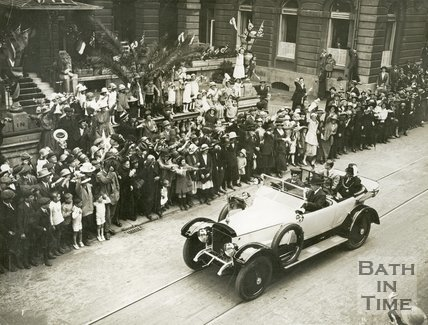 Visit of the Prince of Wales to Bath, July 18th 1923