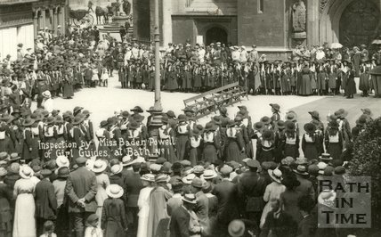 Visit of Miss Baden-Powell to Bath Saturday 10 July 1916