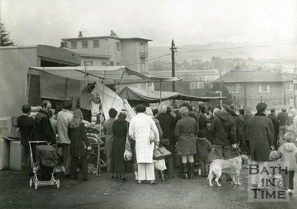 Bath Sunday Market at Twerton Park, 20 March 1972