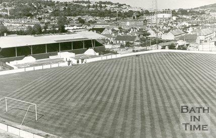 Twerton Park, Bath, 7 August 1972