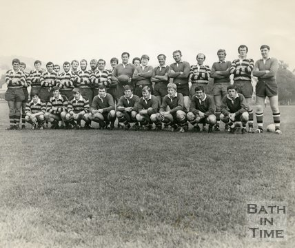 Bath Rugby Team, 1 September 1970