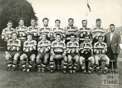 Bath Rugby Team, 16 September 1961