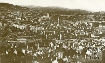 View of Bath from Beechen Cliff, c.1920