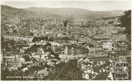 View of Bath from Beechen Cliff, c.1940