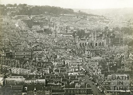 View of Bath from Beechen Cliff, c.1920s