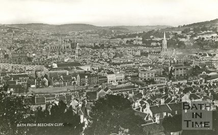 View of Bath from Beechen Cliff, c.1935