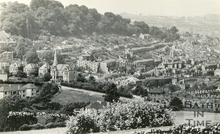 View of Widcombe from Bathwick Hill, Bath, c.1930s