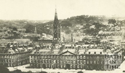 View of North Parade from the Empire Hotel, Bath, c.1912