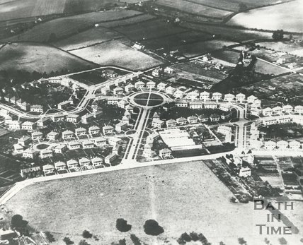 c.1940s Aerial view of Southdown, Bath