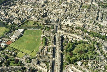 1991 Aerial view of Bath