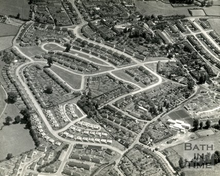 c.1950s Aerial view of Weston, Bath