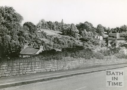 Entry Hill, Bath looking south east, c.1950s