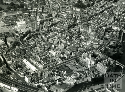 c.1960 Aerial view of Bath (detail)