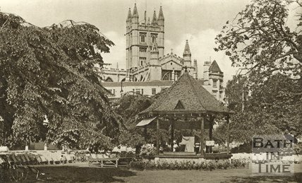The Bandstand, Parade Gardens, Bath, c.1930