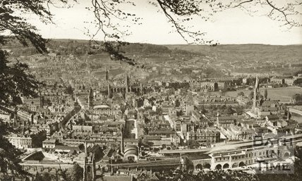 View of Bath from Beechen Cliff, c.1930