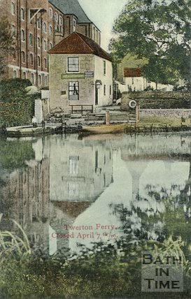 The Old Ferry at Twerton, c.1900