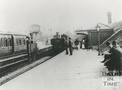 Hallatrow station, c.1870s